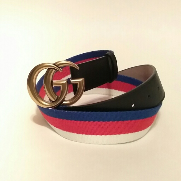 0f9c7beac Gucci Accessories | Marmont Web Belt | Poshmark